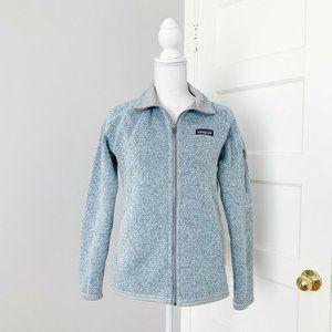 Patagonia | Better Sweater Full Zip Fleece Blue